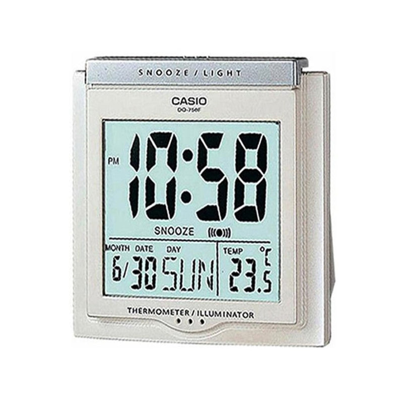 Casio Digital Alarm Clock Dq-750F-7Df