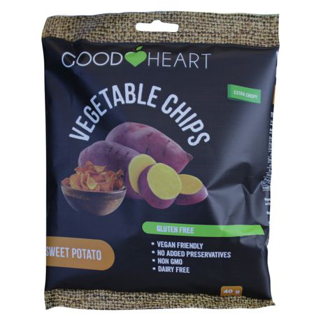 Good Heart chips- Sweet potato