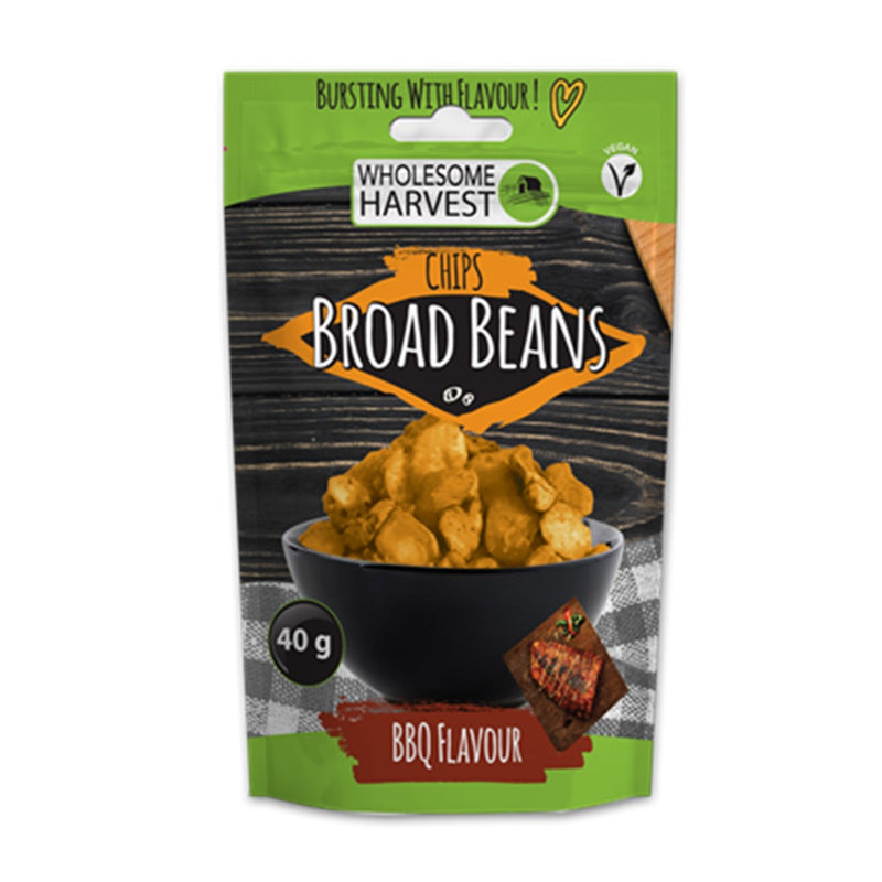 Broad Bean Chips - BBQ Flavour
