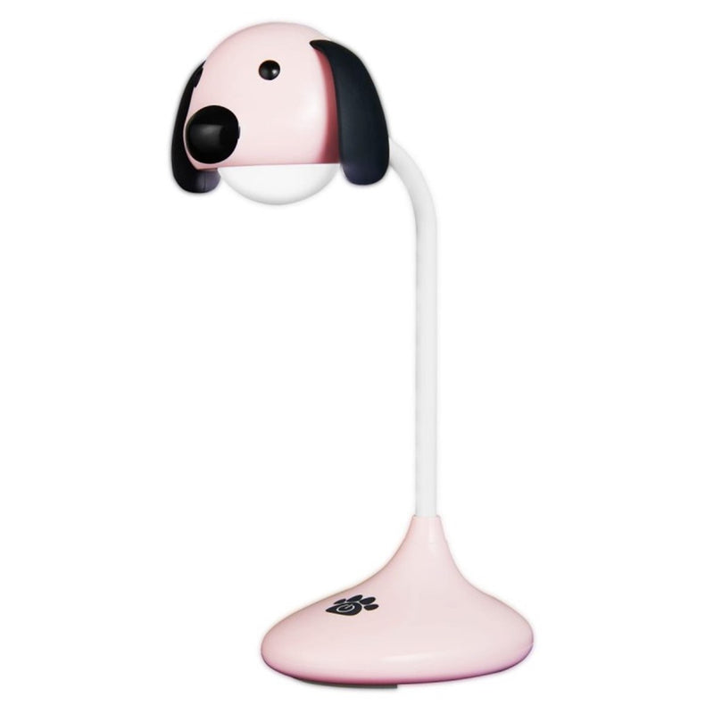 Lumo Neon series LED Desk Lamp - Pink Dog