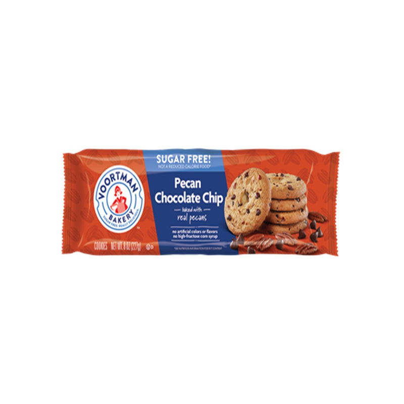 Imported Voortman Sugar Free Cookies from Canada - Pecan Choc Chip