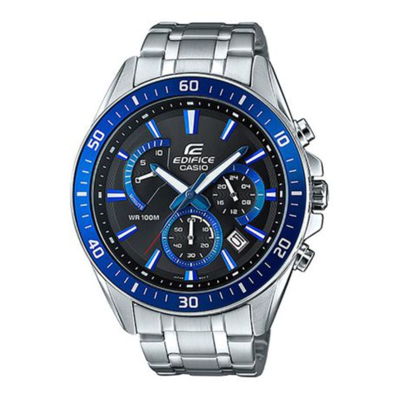 Casio Edifice Mens 100m Watch - EFR-552D-1A2VUDF