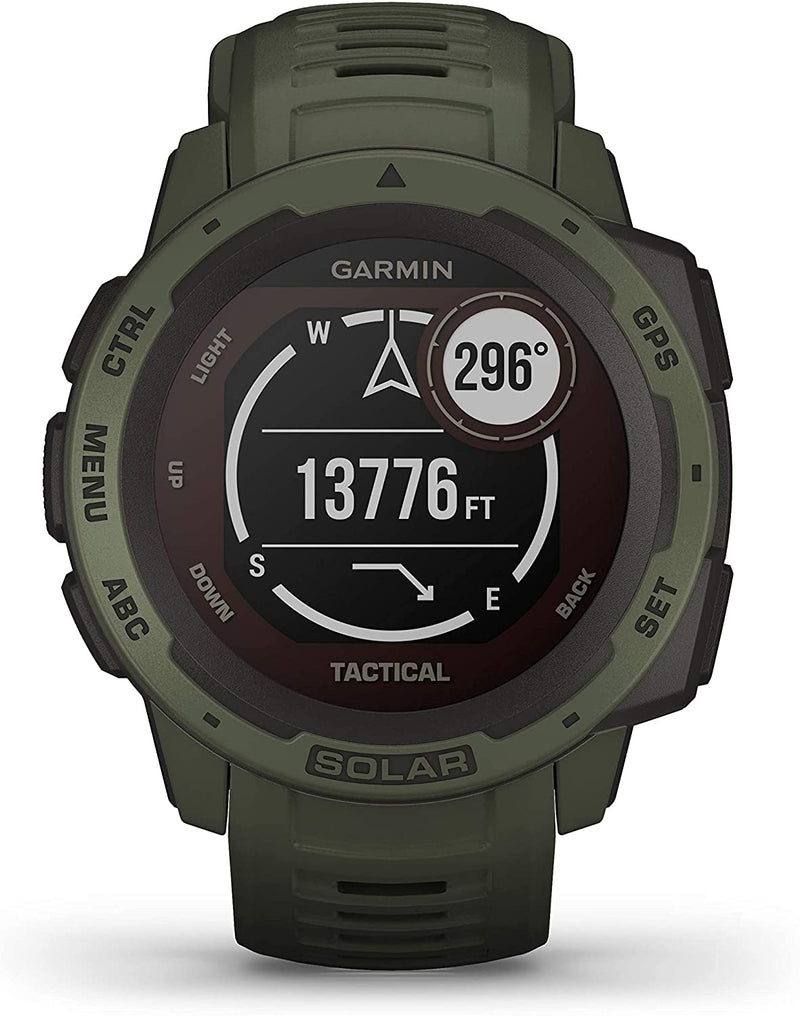 Garmin Instinct® Solar – Tactical Edition Tactical - Moss - 010-02293-04