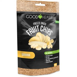 Good Heart Kids - Coconut chips - Banana