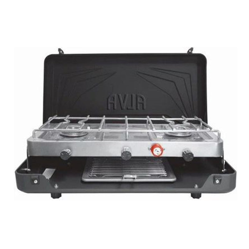 ALVA 2 Burner Gas Stove and Grill