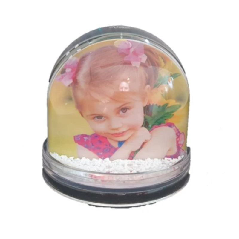 DIY Photo Snow Globe