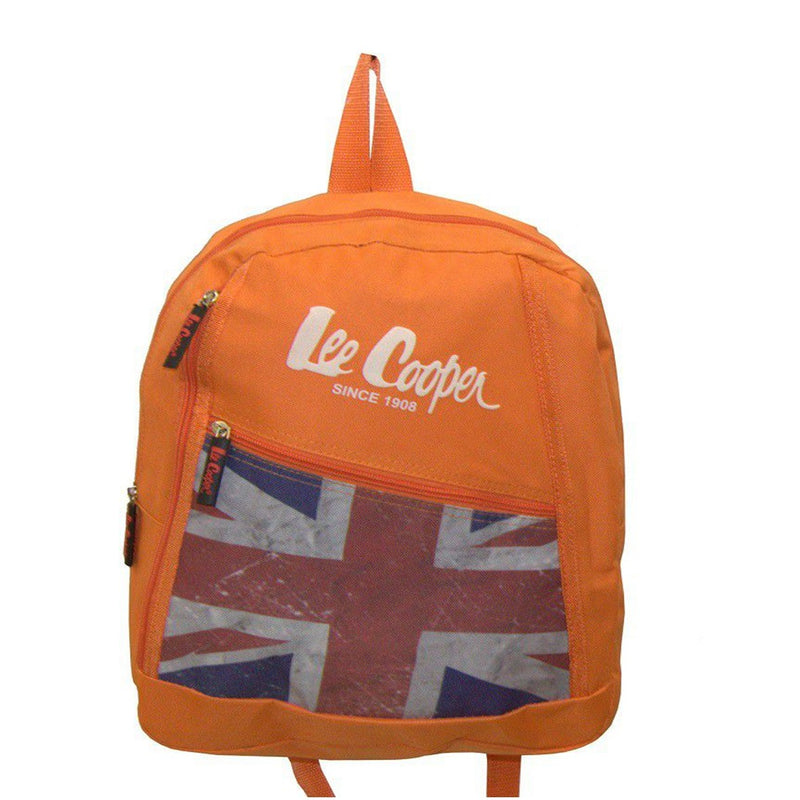 Lee Cooper Flag Backpack- Orange