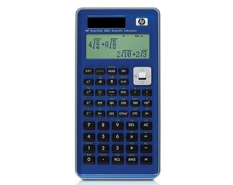 HP 300s+ Scientific Calculator (Algebraic) - non Programmable