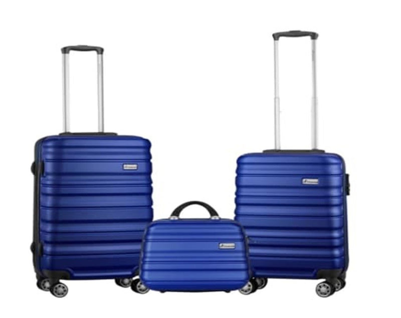 Travelwize Rio ABS 3-Piece Luggage Set - Blue