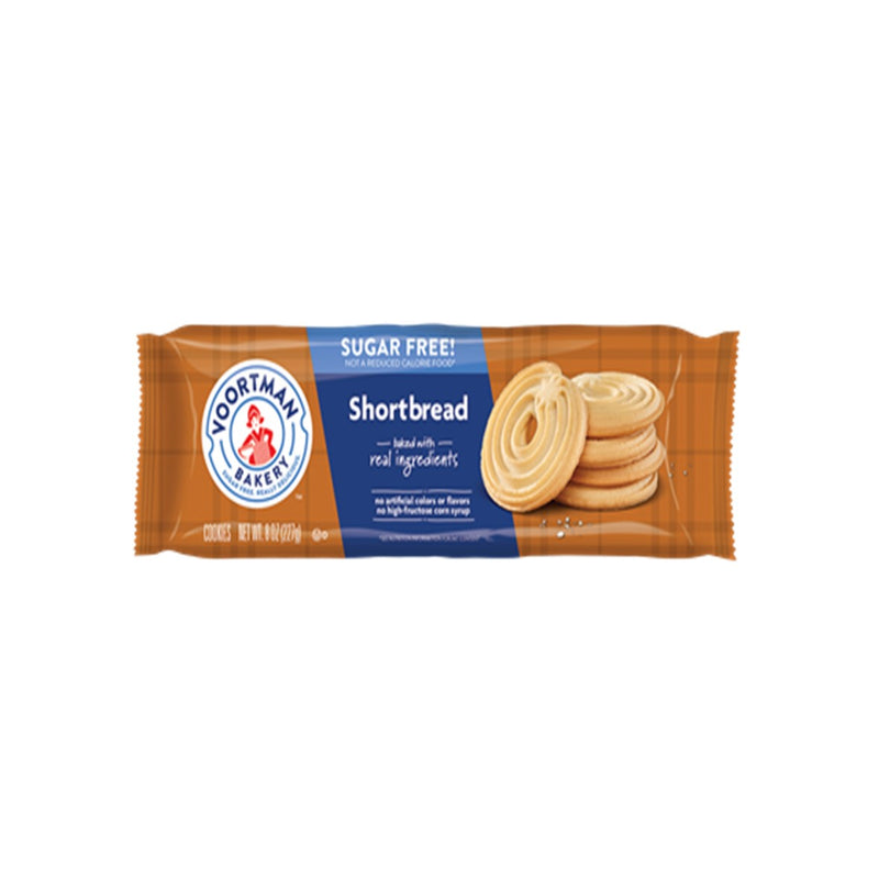 Imported Voortman Sugar Free Cookies from Canada - Shortbread