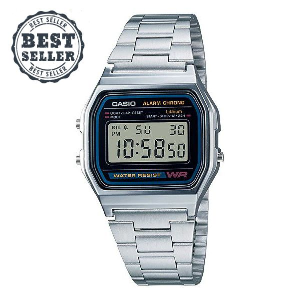 Casio Retro (A158WA-1Q)