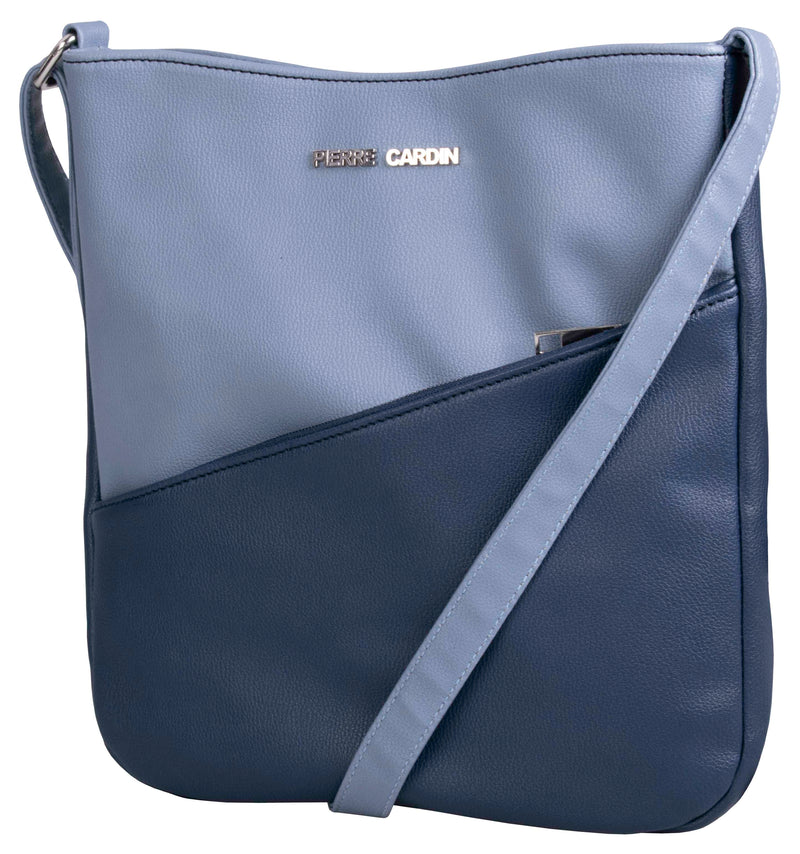 Pierre Cardin Bekah crossbody - Navy & Powder Blue