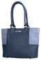Pierre Cardin Brittany Tote - Navy / Powder blue
