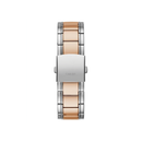 GUESS SILVER TONE CASE 2-TONE STAINLESS STEEL WATCH
