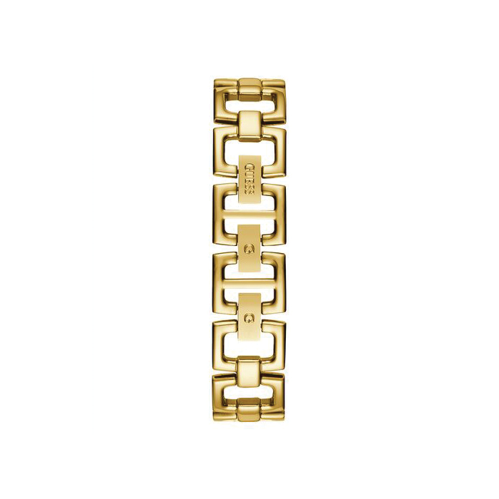 Guess Gold Tone Case Gold Tone Stainless Steel Watch-W1228L2