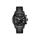 GUESS BLACK CASE BLACK STAINLESS STEEL WATCH