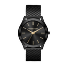 Michael Kors Gents Slim Runway Black Dial Watch - MK8607