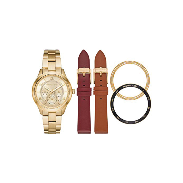 Michael Kors Ladies Runaway multi functional watch - MK3982