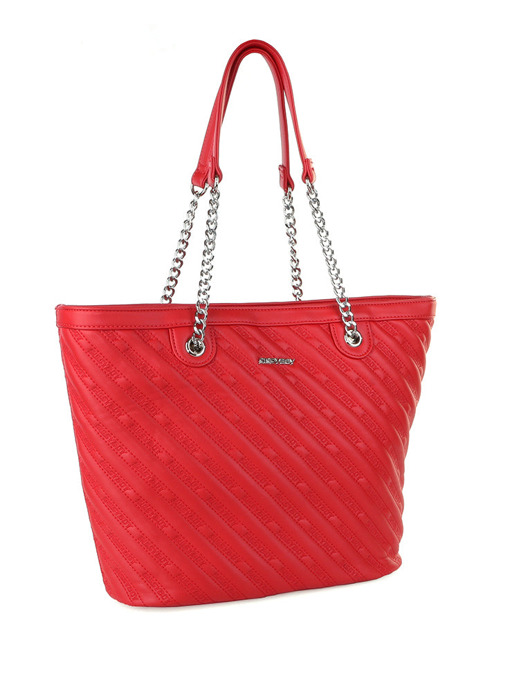 Sissy Dana quilt Tote bag - Red