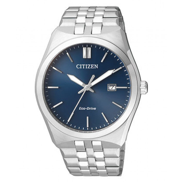 Citizen Citizen Eco-Drive Blue Dial Date Dress Men's watch BM7330-67L