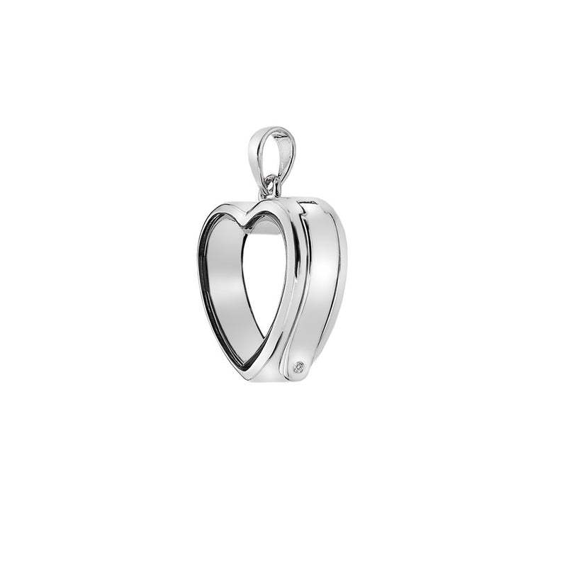 Anais Paris Small Heart Sterling Silver Locket EX001