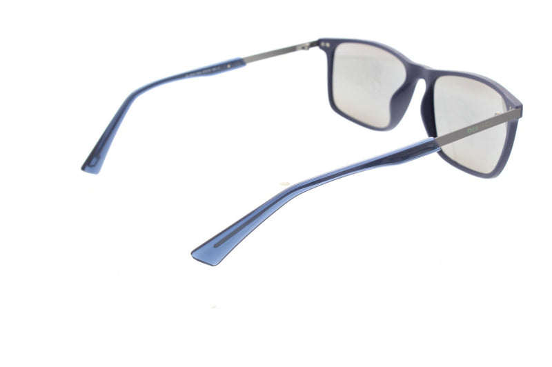 Diesel Matte Blue Frame with Green Mirror lenses