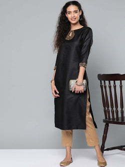 Sequinced Kurta Set