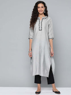 Embriodred Kurta Set