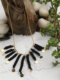 Black Roll Necklace