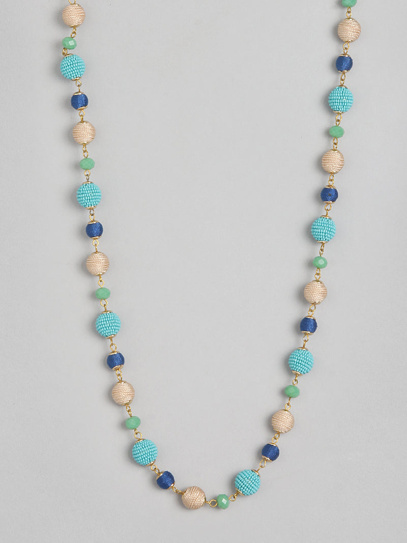 Pastel Ball & Bead Necklace