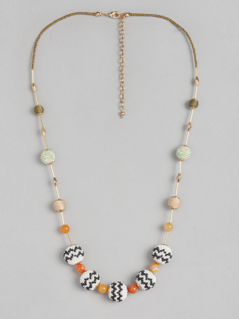 Multi Ball Necklace