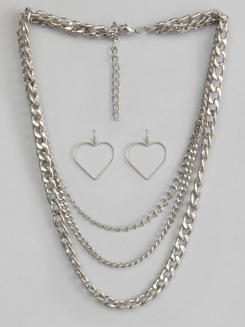 Metal Jewellery Set
