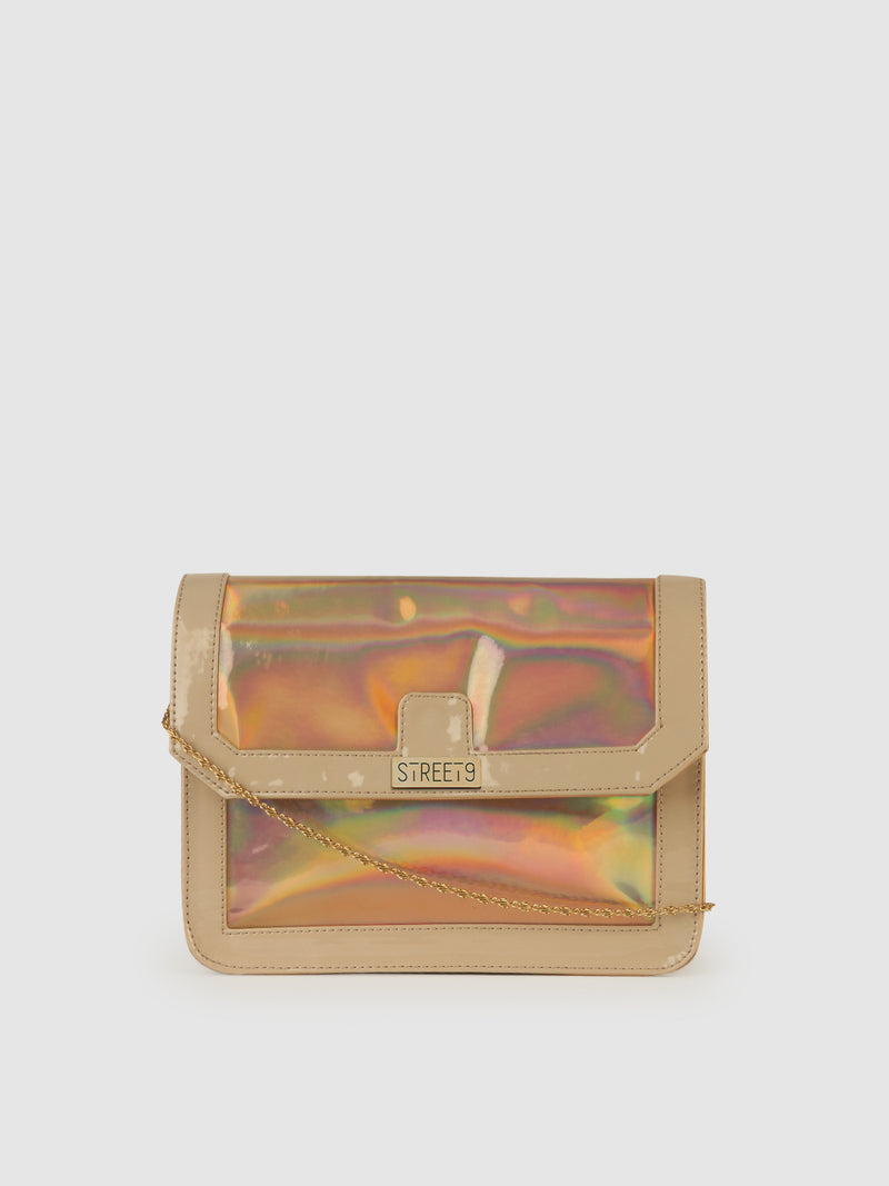 Orange Candy Clutch