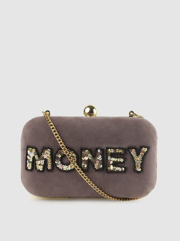 MONEY Box Clutch