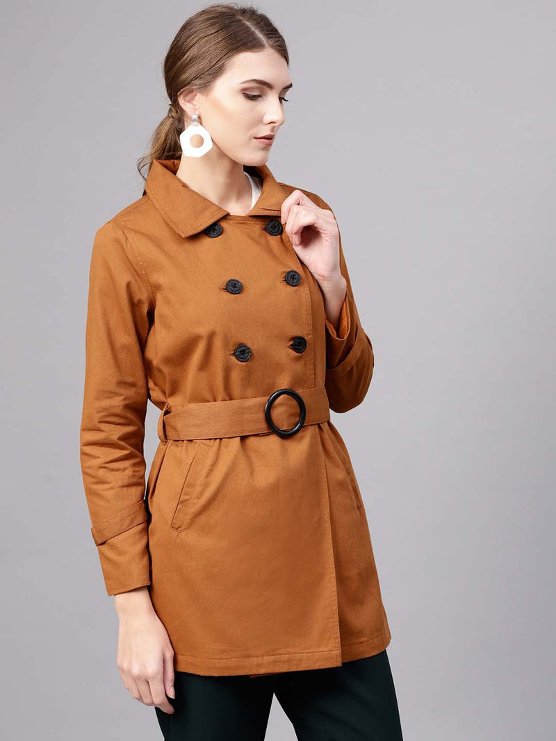 Trench Coat With Belt