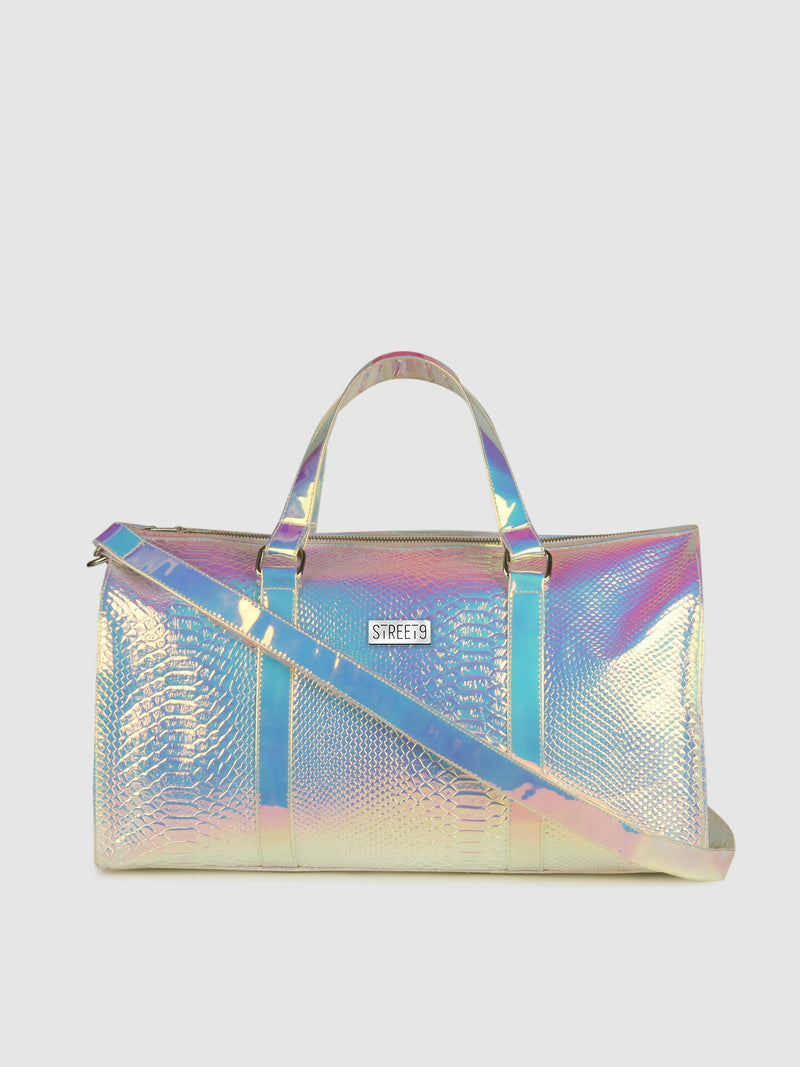 Shiny Snake Duffel Bag