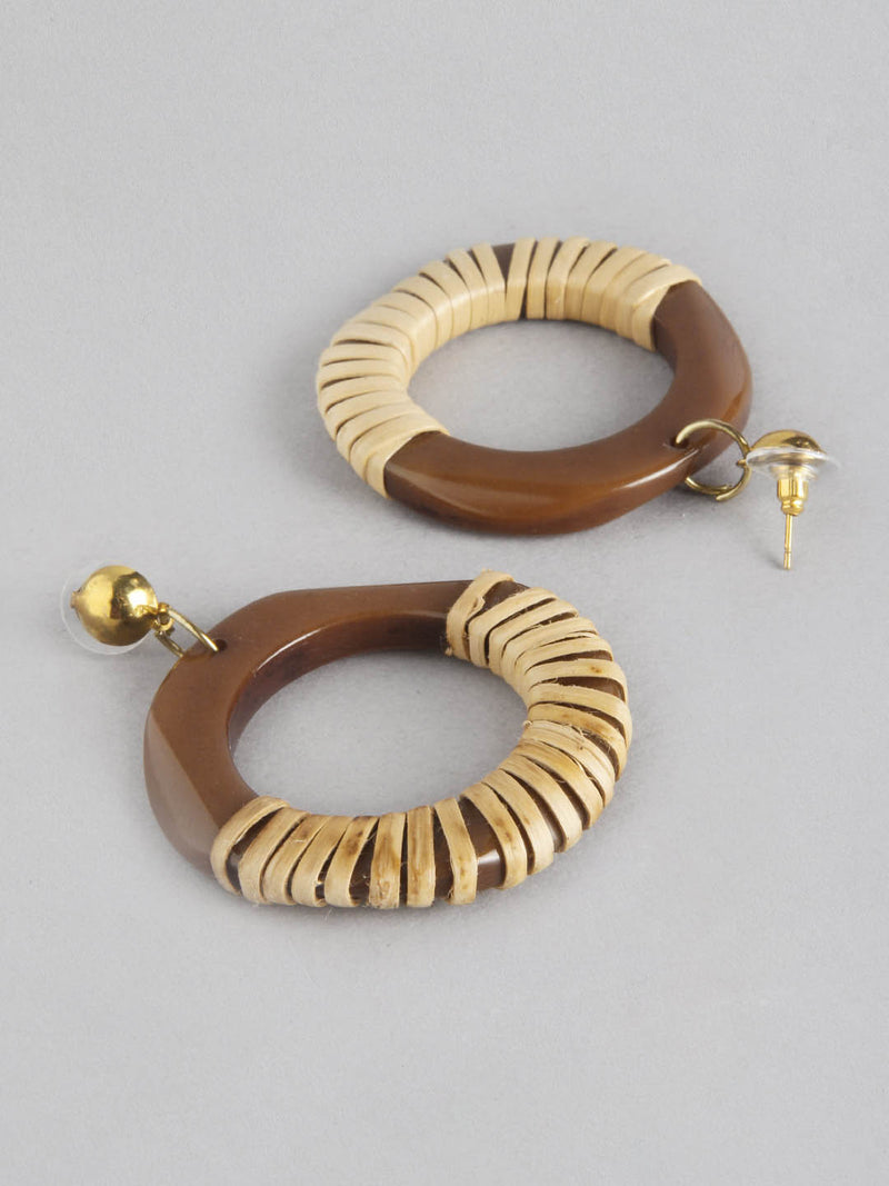 Tribal Round Earring