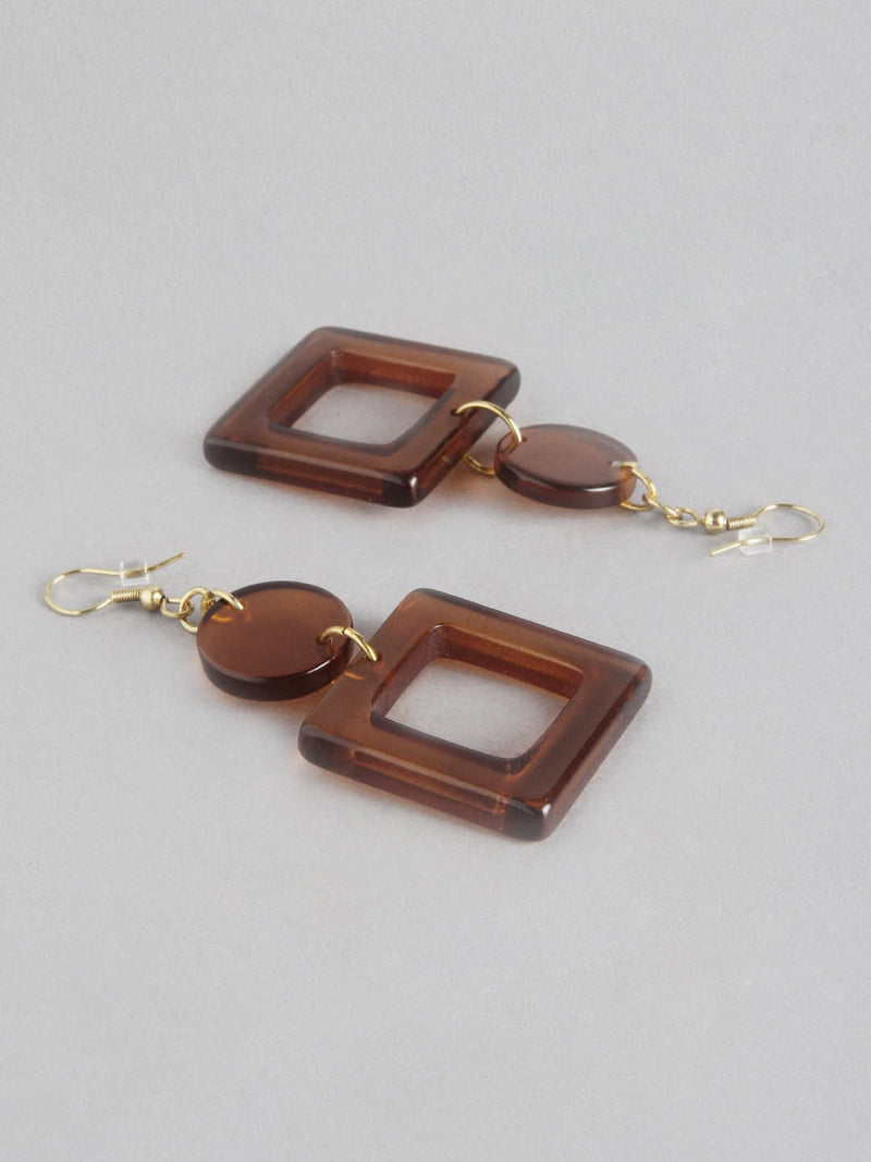Cinnamon Square Dangle
