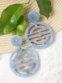 Ice Oriental Drop Earring