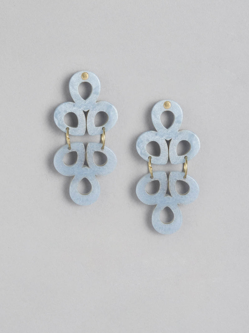 Flora Duo Ice Earring