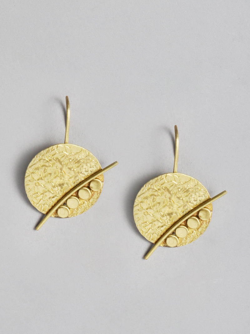 4 Point Metal Earring