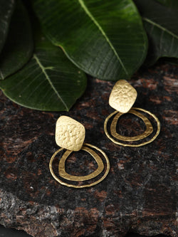 2 Oval Sheet Earring