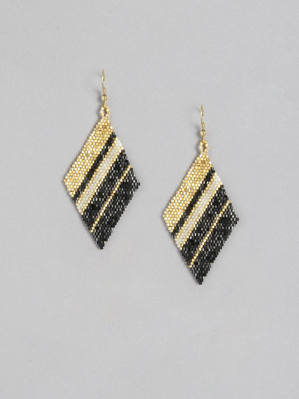 Miyoki Black Gold Earring