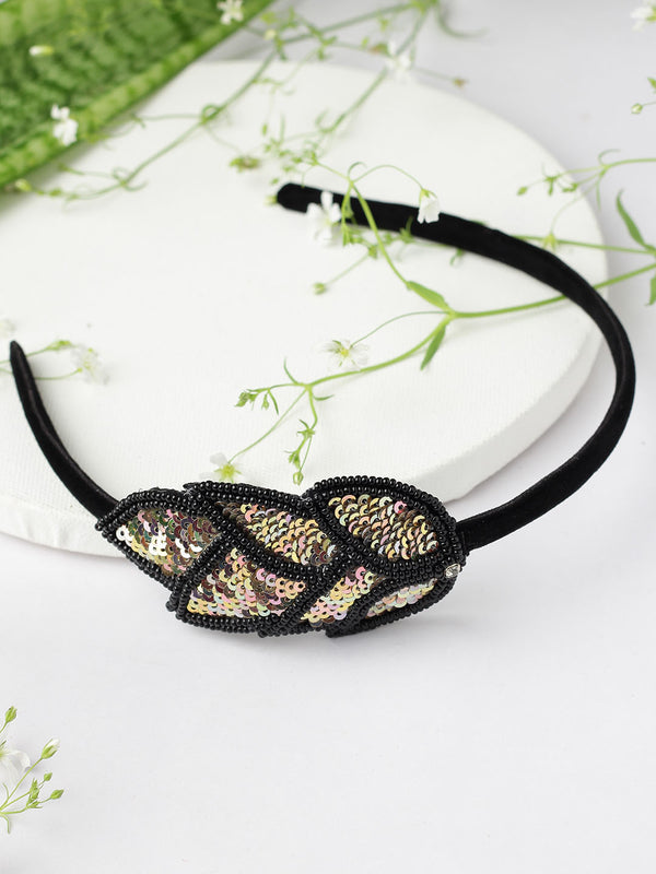 Embellished Leaf Hairband
