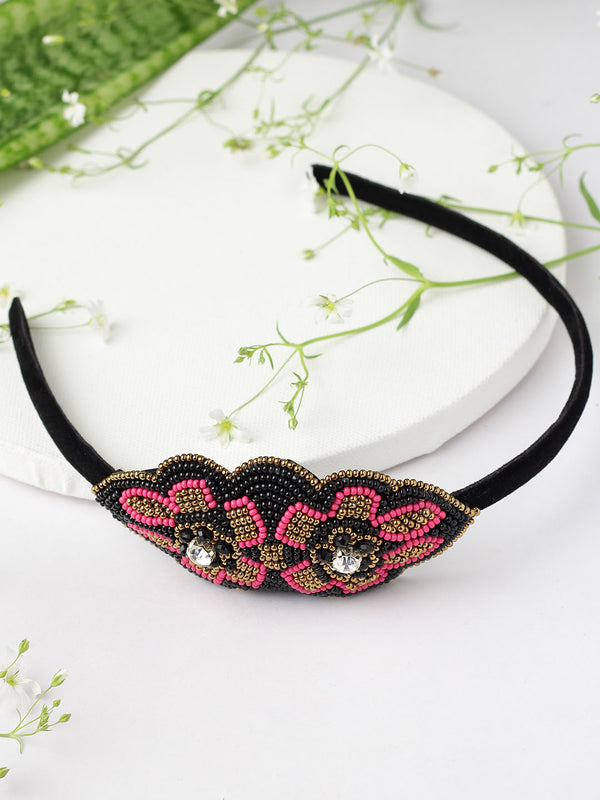 Embellished Floral Hairband
