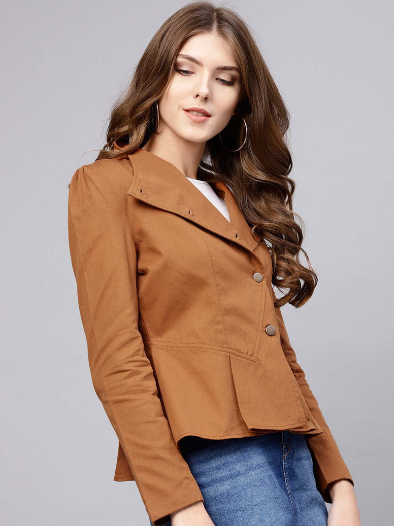 Peplum Jacket Short