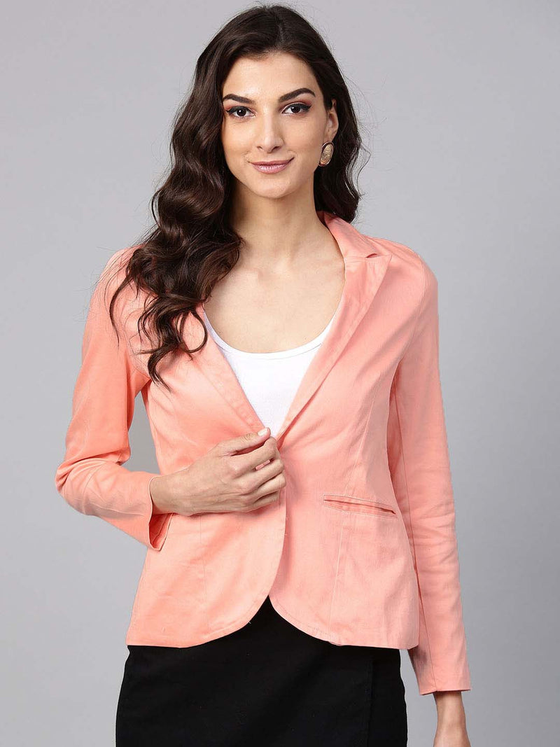 Fitted Solid Jacket