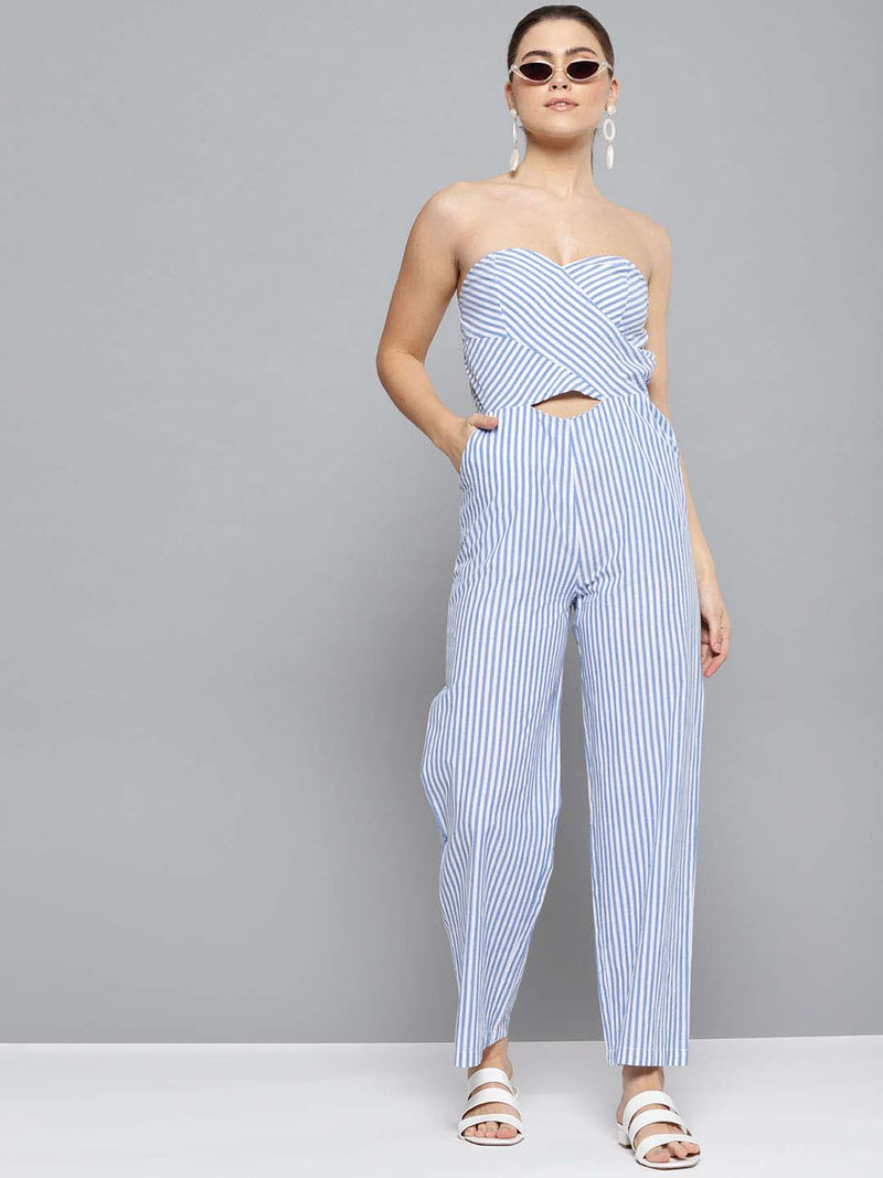 Drop Shoulder Jumpsuit