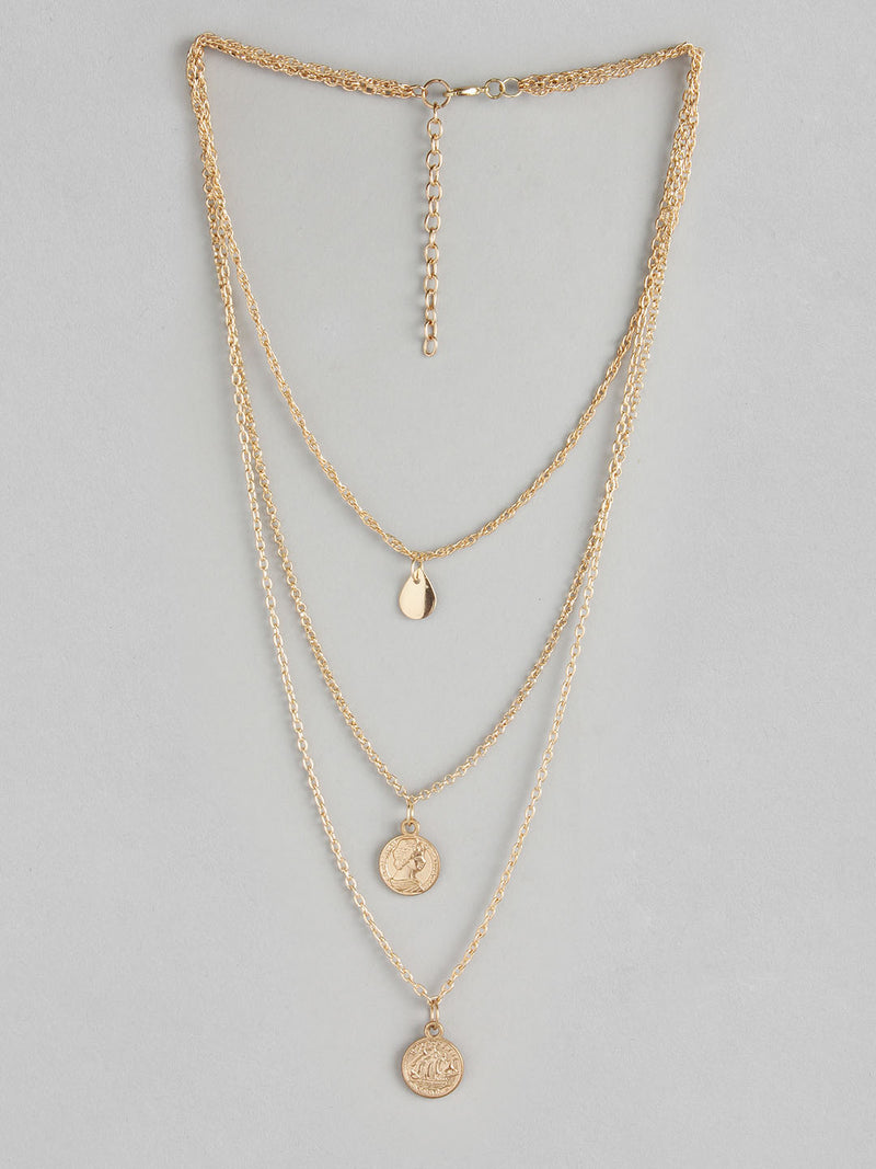 3 Chain Drop Necklace