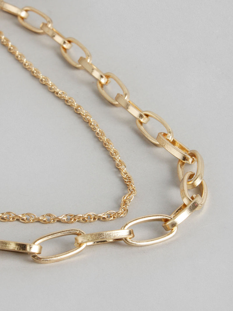 Chain & Sequence Necklace